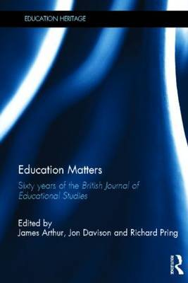 Education Matters: 60 years of the British Journal of Educational Studies