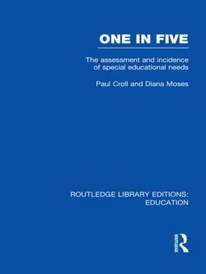 One in Five: The Assessment and Incidence of Special Educational Needs