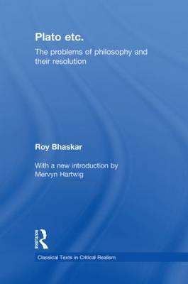 Plato Etc: Problems of Philosophy and Their Resolution
