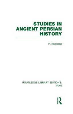 Studies in Ancient Persian History