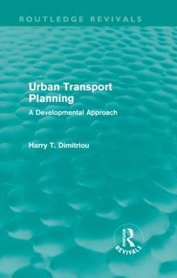 Urban Transport Planning: A Developmental Approach
