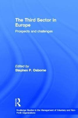 The Third Sector in Europe: Prospects and Challenges