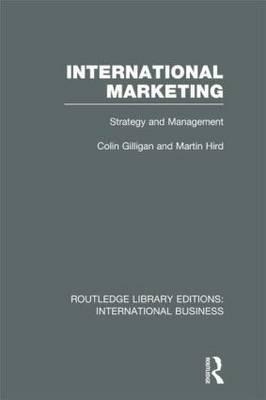 International Marketing: Strategy and Management