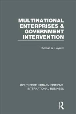 Multinational Enterprises and Government Intervention
