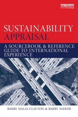 Sustainability Appraisal: A Sourcebook and Reference Guide to International Experience