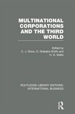 Multinational Corporations and the Third World (RLE International Business)