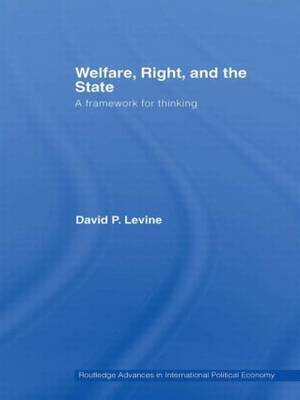 Welfare, Right and the State: A Framework for Thinking