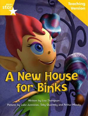 Fantastic Forest Yellow Level Fiction: A New House for Binks Teaching Version