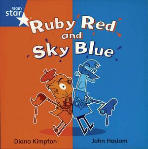 Rigby Star Independent Year 1 Blue Book 4 Group Pack