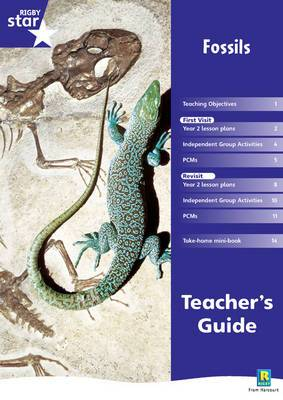Rigby Star Shared Year 2 Non-fiction: Fossils Teachers Guide
