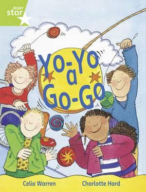 Rigby Star Guided 1/P2 Green Level: Yo-Yo a Go Go (6 Pack) Framework Edition