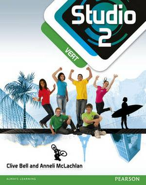 Studio 2 Vert Pupil Book (11-14 French)