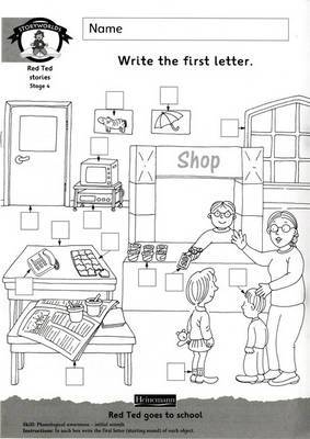 Storyworlds Yr1/P2 Stage 4, Our World, Workbook ( 8 pack)