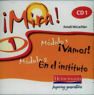 Mira 1 Audio CD (Pack of 3)