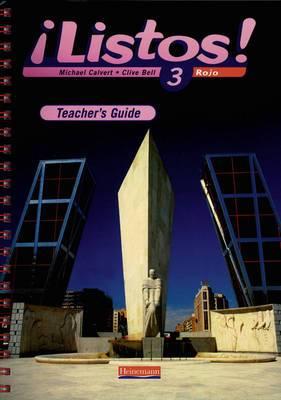 Listos! 3 Rojo Teacher's Guide