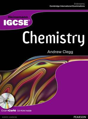 Heinemann IGCSE Chemistry Student Book with Exam Cafe CD