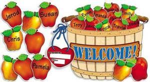 Giant Apple Basket Bulletin Board