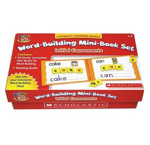 Initial Consonants: Literacy Manipulatives Word-Building Mini-Book Set