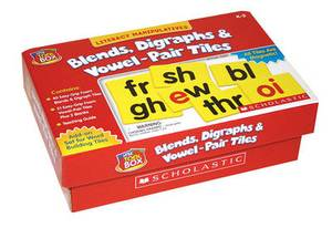 Blends, Digraphs & Vowel-Pair Tiles  : Literacy Manipulatives