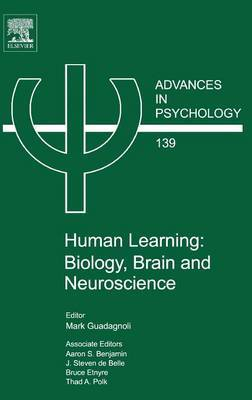 Human Learning, Volume 139