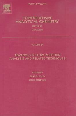 Advances in Flow Injection Analysis and Related Techniques, Volume 54
