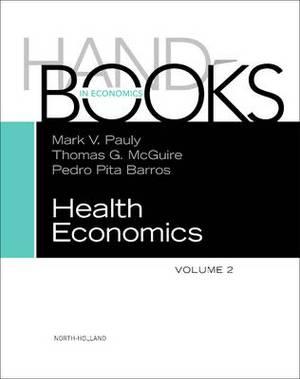 Handbook of Health Economics, Vol 2