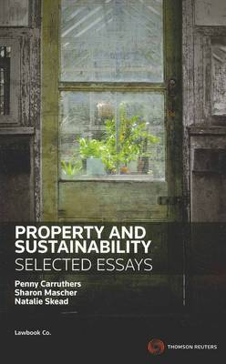 Property & Sustainability: Selected Essays