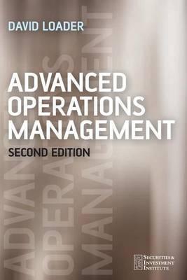 Advanced Operations Management