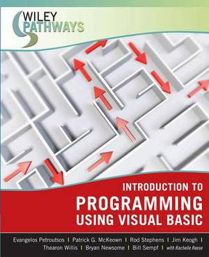 Wiley Pathways Introduction to Programming using Visual Basic