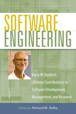 Software Engineering: Barry W. Boehm's Lifetime Contributions to Software Development, Management, and Research