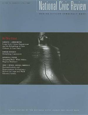 National Civic Review, Volume 96, Number 3, Fall 2007