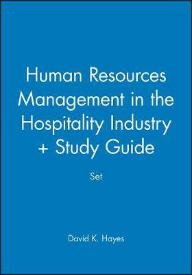 Human Resources Management in the Hospitality Industry + Study Guide Set