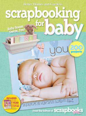 Better Homes and Gardens  Let's Start Scrapbooking for Baby