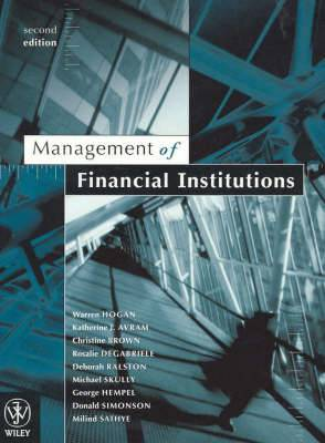 Management of Financial Institutions