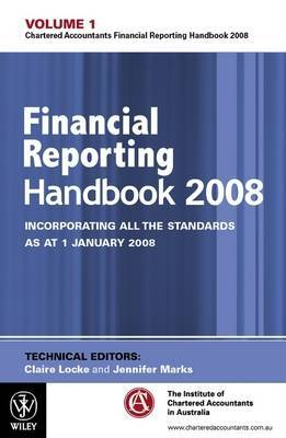 Financial Reporting Handbook: 2008