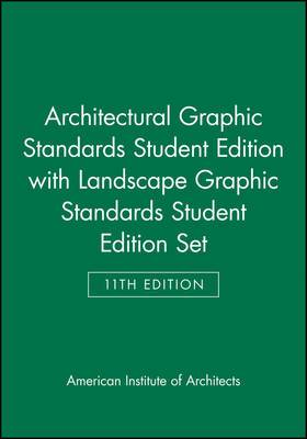 Architectural Graphic Standards AND Landscape Graphic Standards