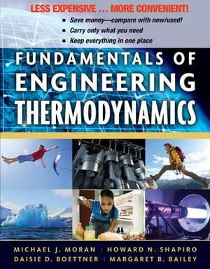 Fundamentals of Engineering Thermodynamics, Binder Version