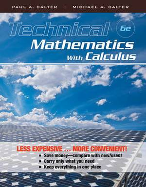 Technical Mathematics with Calculus 6E Binder Ready Version