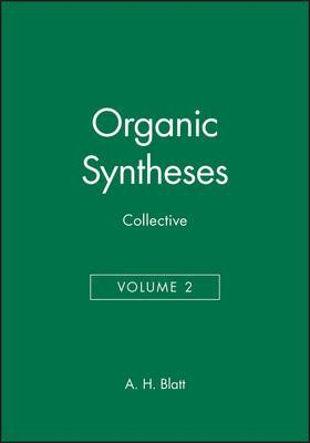 Organic Syntheses: v.10-19 in 1v