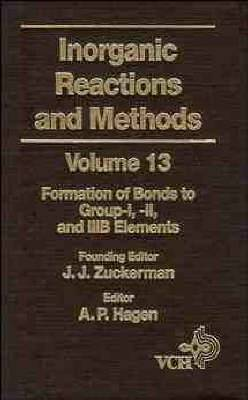 Inorganic Reactions and Methods: The Formation of Bonds to Group-I, -II, and -IIIB Elements
