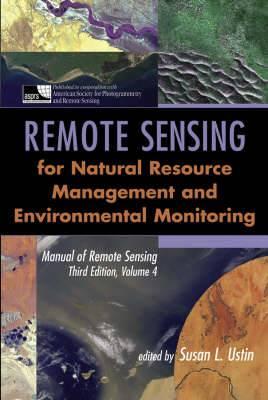Manual of Remote Sensing: Remote Sensing for Natural Resource Management and Environmental Monitoring