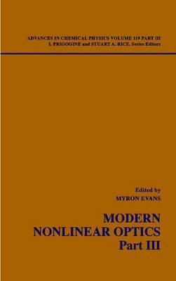 Modern Nonlinear Optics: Pt.3