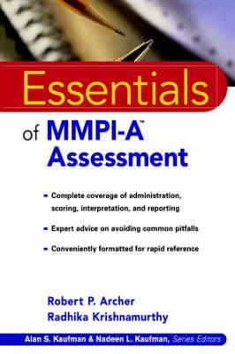 Essentials of MMPI-A Assessment