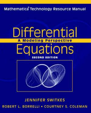Differential Equations 2E Mathematica Resource Manual