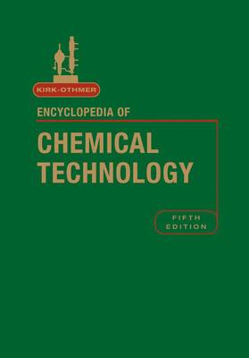 Kirk-Othmer Encyclopedia of Chemical Technology, Index to Volumes 1 - 26