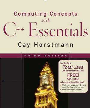 Computing Concepts with C++: WITH WeL Total Java CD-ROM
