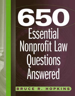 650 Essential Nonprofit Law Questions Answered