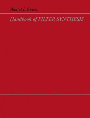 Handbook of Filter Synthesis
