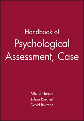 Handbook of Psychological Assessment, Case Conceptualization, and Treatment