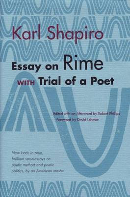 Essay on Rime: With Trial of a Poet